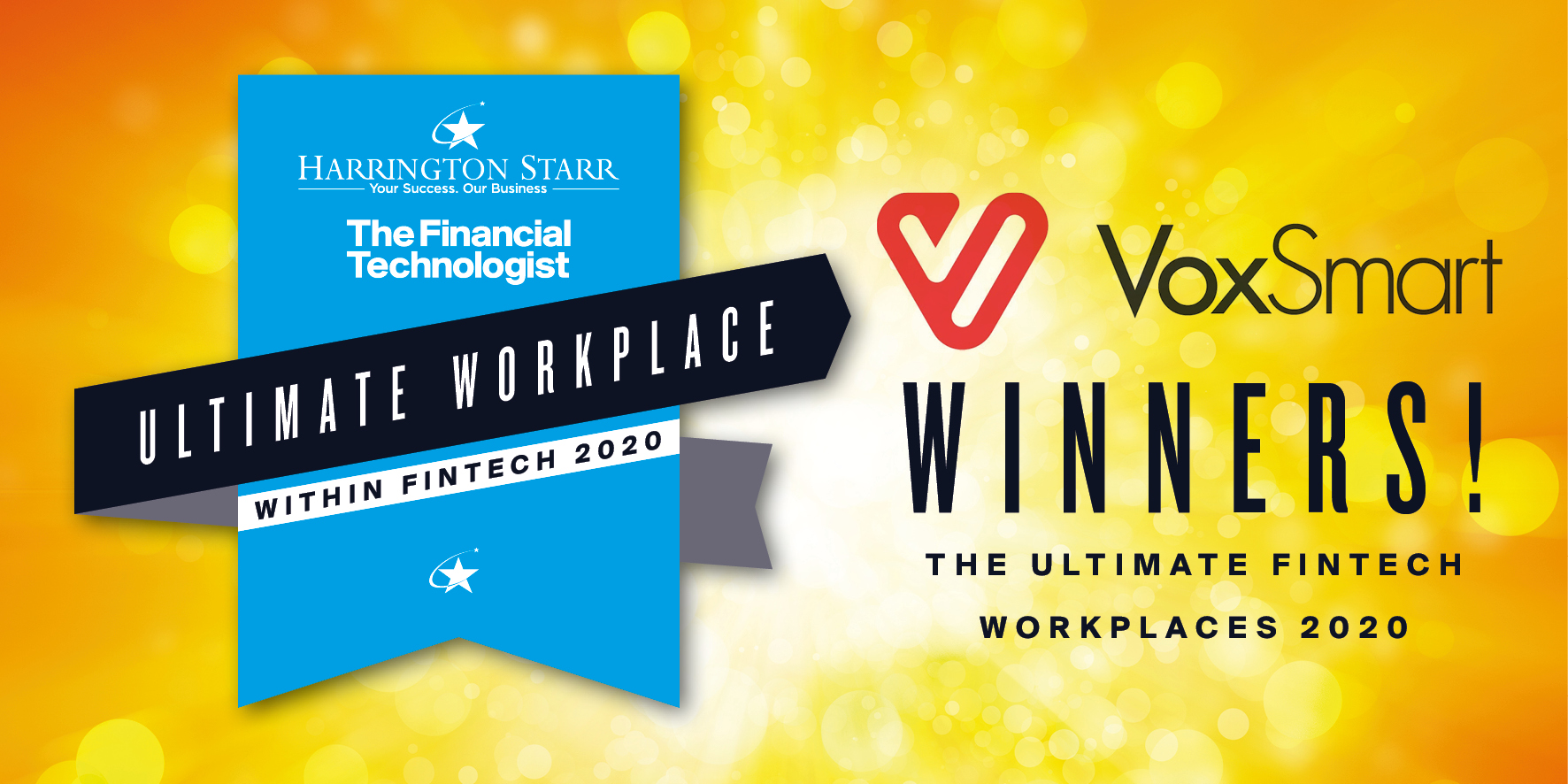 Harrington Starr names VoxSmart the Ultimate FinTech Workplace