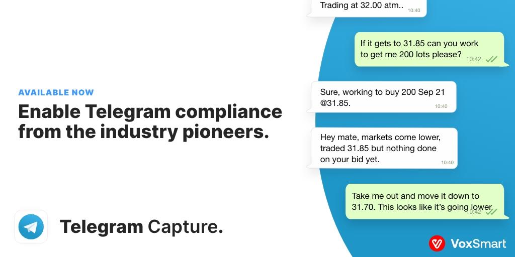 VoxSmart announces Telegram Capture to broaden award-winning Mobile Capture suite