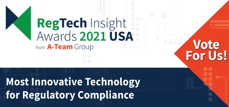 VoxSmart are shortlisted in the RegTech Awards USA