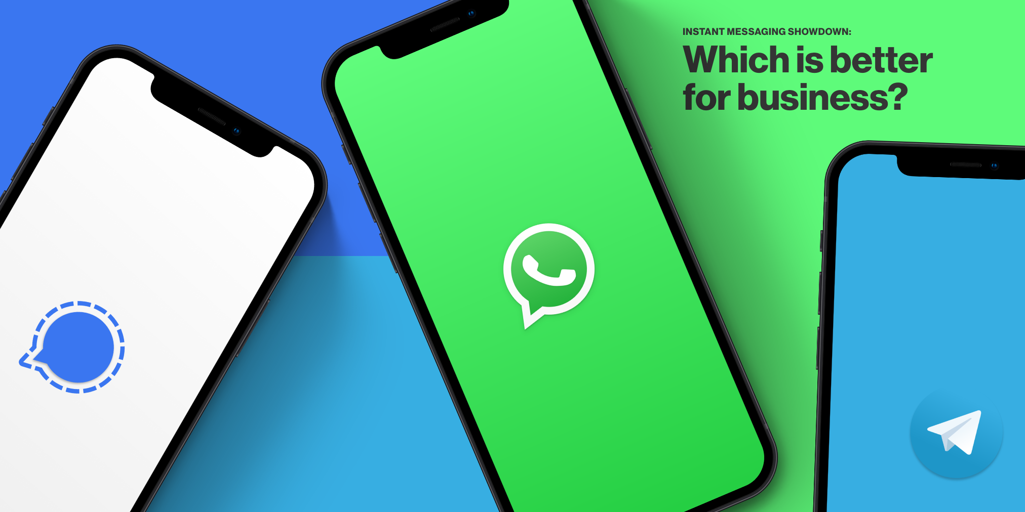 Is Signal better than WhatsApp?